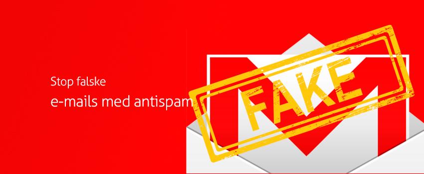 Stop falske e-mails med antispam