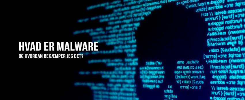 Hvad er malware og hvordan bekæmper jeg det?