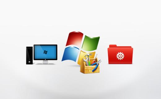 Opret en systemreparationsdisk til Windows 7