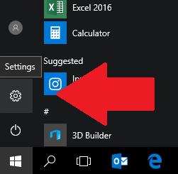 skift sprog windows 10